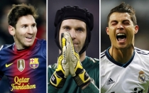 FC Barcelona, Cristiano Ronaldo, Lionel Messi, Chelsea FC, Peter Cech, UEFA, Real Madrid