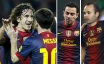 FC Barcelona, Lionel Messi, Ftbol espaol, Carles Puyol, Xavi Hernndez, Andrs Iniesta