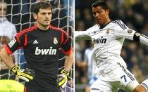 Cristiano Ronaldo, Iker Casillas, Liga espaola, Ftbol espaol, Real Sociedad, Real Madrid