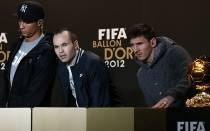 FIFA, FC Barcelona, Cristiano Ronaldo, Lionel Messi, Andrs Iniesta, France Football, Baln de Oro