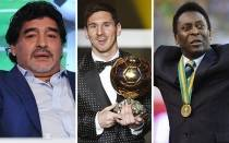 FIFA, Lionel Messi, Pel, Diego Armando Maradona, France Football, Baln de Oro