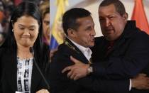 Ollanta Humala, Keiko Fujimori, Hugo Chvez