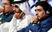 Diego Armando Maradona, Dubi, Emiratos rabes, Al Wasl FC