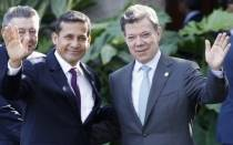 Ollanta Humala, Juan Manuel Santos