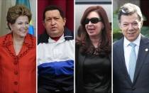 Cristina Fernndez, Hugo Chvez, BBC, Dilma Rousseff, Juan Manuel Santos, Twitter, Enrique Pea Nieto