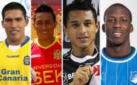 Luis Advncula, Yoshimar Yotn, Andy Pando, Christian Cueva