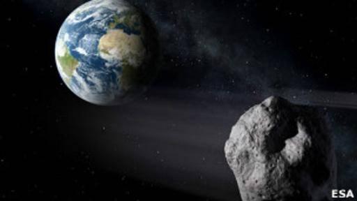 Rezar, la recomendación de la NASA si un gran asteroide se dirige a la Tierra