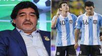 Lionel Messi, Diego Armando Maradona, Sergio Aguero