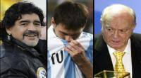 Lionel Messi, , Pel, Alfredo Di Stfano, Diego Armando Maradona
