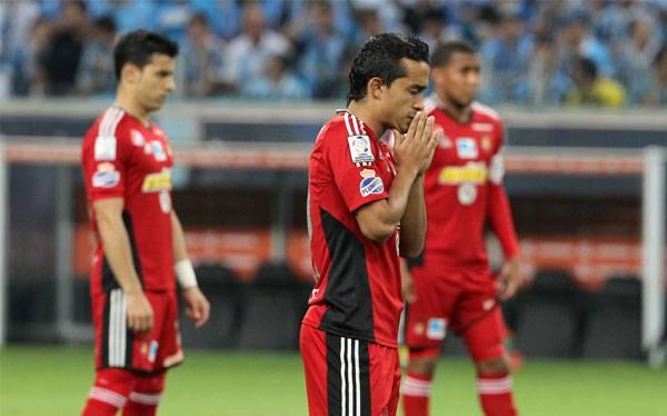 Caracas FC guardó un minuto de silencio por Hugo chávez en la Libertadores