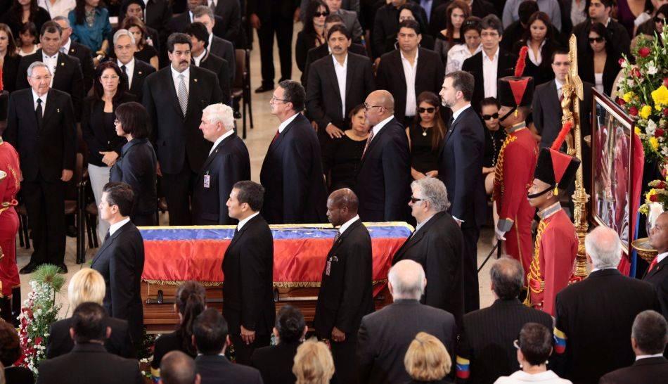 Hugo Chávez, Murió Hugo Chávez