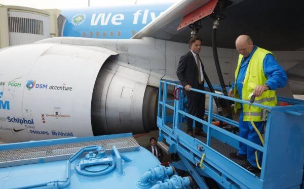 Avión propulsado con grasa de freír unirá Nueva York con Ámsterdam
