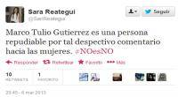Acoso sexual, Abuso sexual, Violencia contra la mujer, Twitter, Revocacin a Villarn, Revocacin, #NoesNo