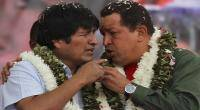 Evo Morales, Hugo Chvez