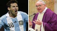 Lionel Messi, Papa, Seleccin argentina, Argentina, Jorge Mario Bergoglio, Papa Francisco,  Eliminatorias Brasil 