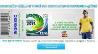 Mundial Brasil 2014, Neymar, Delitos informticos, Ciberataques, Kaspersky, Brasil 2014, Pishing,  Cibercriminales,  Fuleco