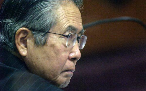 Alberto Fujimori fue denunciado por el caso de diarios chicha