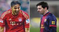 Claudio Pizarro, Lionel Messi