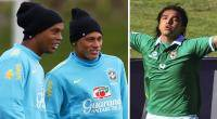 Amistosos Internacionales, Neymar, Seleccin brasilea, Ronaldinho, Seleccin Boliviana, Brasil 2014,  Marcelo Martins