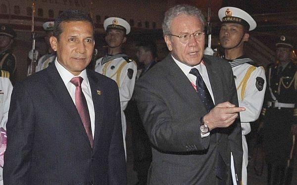 """Ollanta Humala: """"China es un gigante y nosotros queremos caminar a su lado"""""""