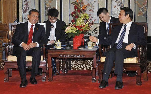 Ollanta Humala presenta al Perú como