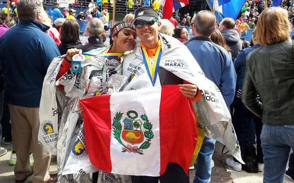 Peruano en la Maratón de Boston:
