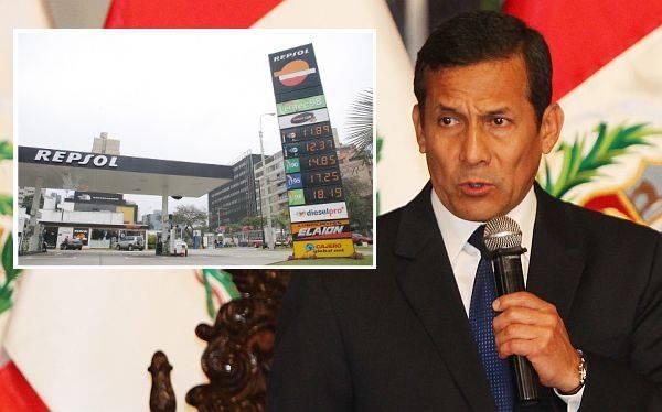 Humala se reunió con presidente de Repsol y mostró interés en comprar la empresa