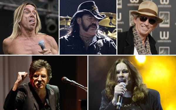 Cinco rockeros que sobrevivieron a los excesos para volverse leyendas