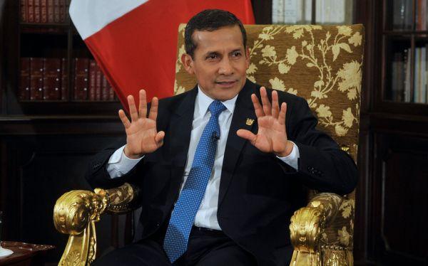 Humala reconoció interés del Estado en comprar acciones de Repsol