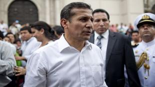 Aprobacin de Ollanta Humala cay cinco puntos: el 46% lo respalda