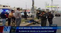 Callao: un policía murió en accidente de moto en la avenida Colonial  - Noticias de accidentes de transito