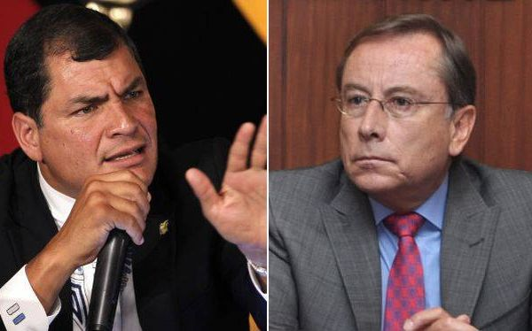 Ecuador decidirá hoy si retira a su embajador Rodrigo Riofrío del Perú