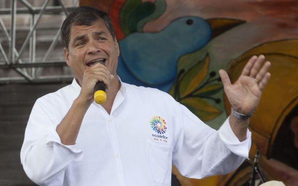 Rafael Correa consideró