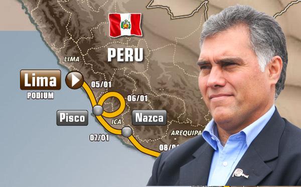 """Boza sobre Dakar 2015: """"Los autos van a pasar por otros territorios del Perú"""""""