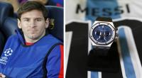 Messi vendi este reloj en US$85 mil en beneficio de un hospital infantil