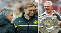 Jos Mourinho,  Jurgen Klopp,  Jupp Heynckes