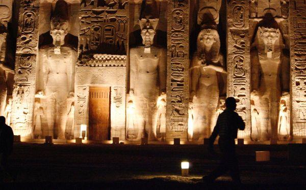 Egipto: bóveda de templo de Abu Simbel será museo de piezas faraónicas