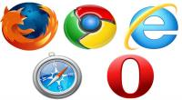 Microsoft, Apple, Safari, Firefox, Opera, Chrome, Google, Mozilla, Internet Explorer 10