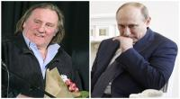 Gerard Depardieu y Vladimir Putin (Fotos archivo El Comercio