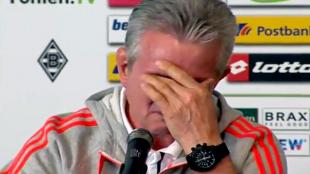 VIDEO: Jupp Heynckes, DT del Bayern, llor en su despedida de la Bundesliga