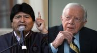 Evo Morales se reunir con Jimmy Carter por demanda a Chile en La Haya