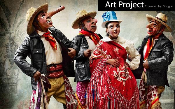 Google Art Project exhibe la más reciente muestra de Mario Testino