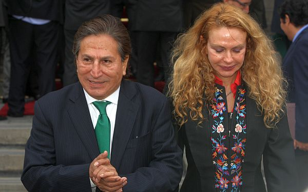 Las respuestas de Alejandro Toledo por millonarias compras de su suegra