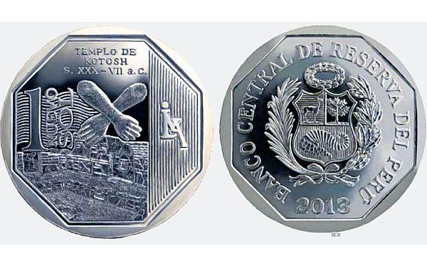 Esta es la nueva moneda de S/.1 que hoy entra en circulación en el