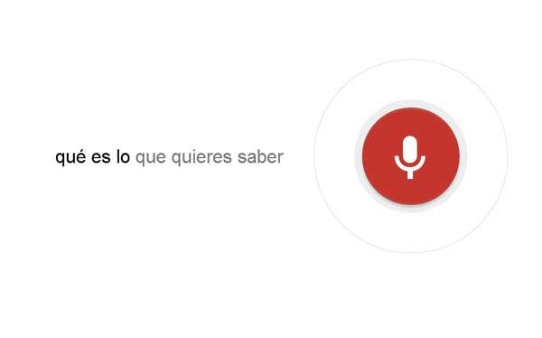 Google activó búsquedas por voz en su navegador Chrome