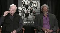 VIDEO: Morgan Freeman se quedó dormido durante entrevista en vivo