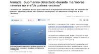 Chile, Submarino