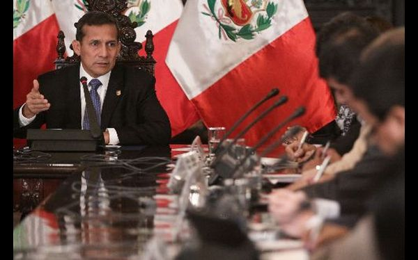 Ollanta Humala. (Foto: Andina / Video: TV Perú)