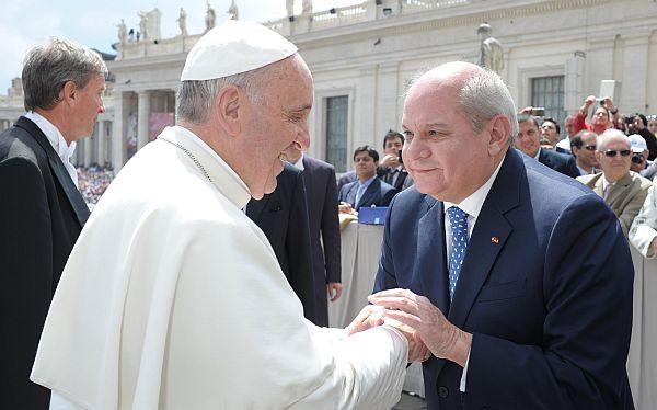 El Sumo Pontífice envió sus bendiciones al pueblo peruana. (Foto: Difusión)