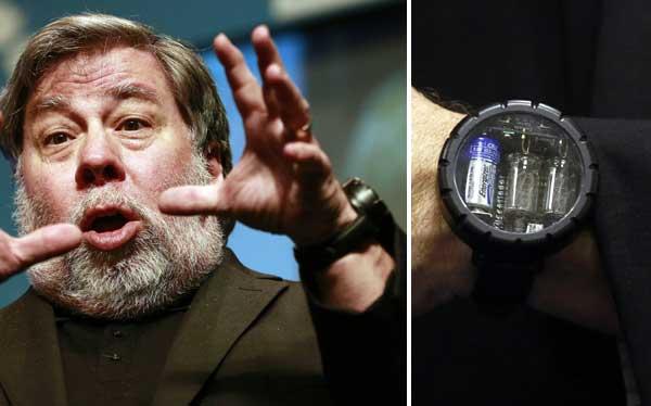 El extraño 'reloj retrogeek' de Steve Wozniak, el cofundador de Apple